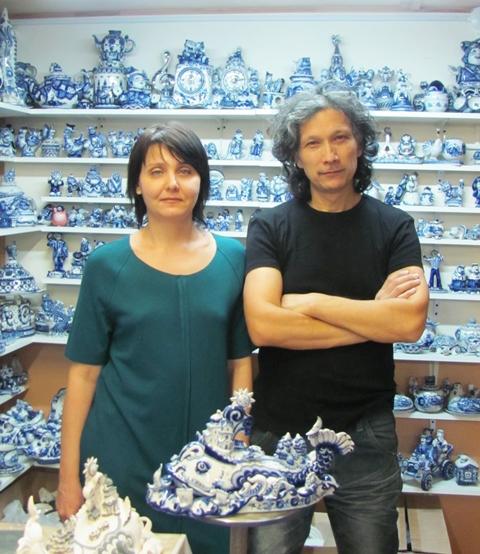 Черновы Леонид и Виктория